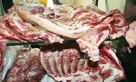 گوشت گوسفندی در بازار